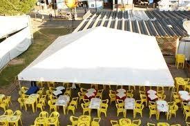 Aluguel de tendas para festa junina