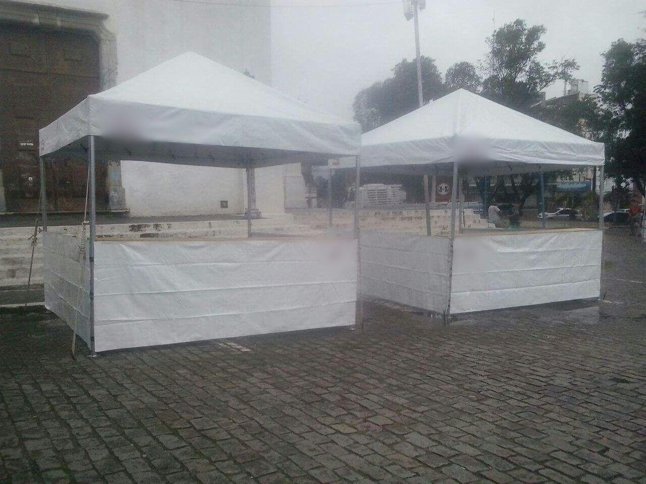Orçamento de tendas para eventos