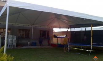 Orçamento de tendas